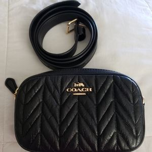 Coach Quilted Belt Bag